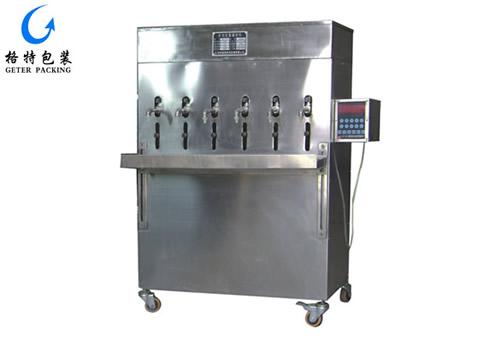 自动定量液体灌装机GT-DY6型