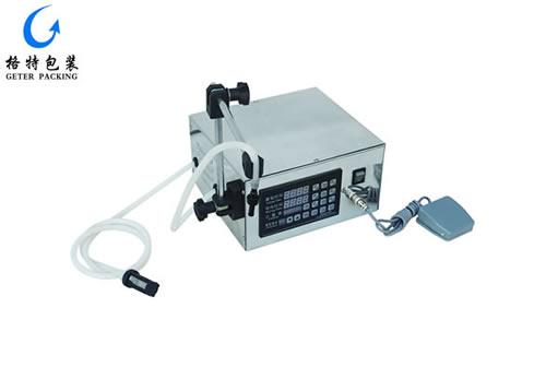 便携式液体灌装机(10Ml-1000ml )GTG-YD1型