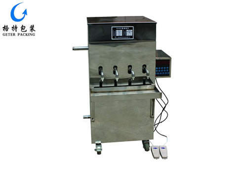 自动定量液体灌装机GT-YD4型