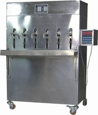 六头自动定量液体灌装机GT-DY-6型