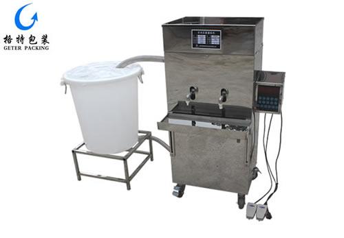 自动定量液体灌装机GTG-YD2型