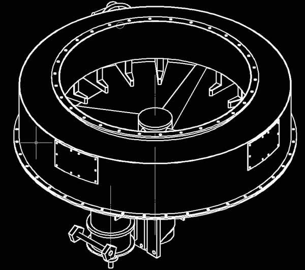 河南中烟烟嘴纤维生产项目圆盘加料机部分设计