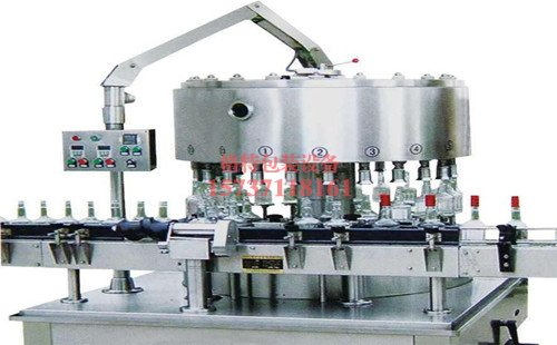 豫北酿酒全自动回转式液体灌装机