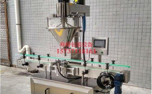 合雅洗涤用品自动粉末包装机生产线