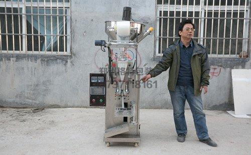 张大帅调味食品厂全自动定量颗粒包装机