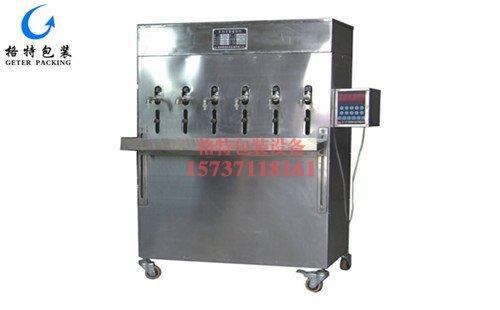雪菲力饮品自动定量液体灌装机