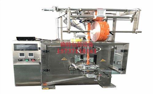 莱帕德涂料厂全自动圆角夹拉式粉剂包装机